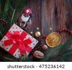 Saint Nicholas And Gift On A...