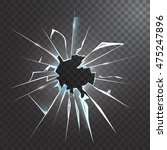 accidentally broken frosted...   Shutterstock .eps vector #475247896
