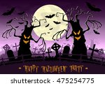 Halloween Background. Scary...