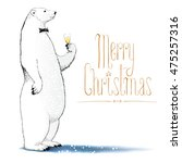 Merry Christmas Vector Drawing...