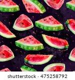 artwork seamless pattern of... | Shutterstock . vector #475258792