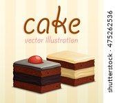 cakes background. cake vector... | Shutterstock .eps vector #475262536