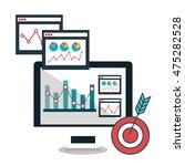search engine optimitation... | Shutterstock .eps vector #475282528