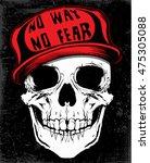 skull t shirt graphic design | Shutterstock .eps vector #475305088