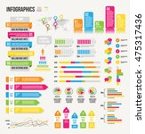 infographics illustration of a... | Shutterstock .eps vector #475317436