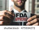 fda approved | Shutterstock . vector #475334272