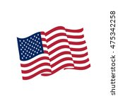 flag of usa | Shutterstock .eps vector #475342258