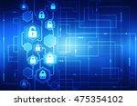 2d illustration safety concept  ... | Shutterstock . vector #475354102