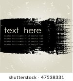 grunge background. vector... | Shutterstock .eps vector #47538331