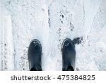 boots in snow | Shutterstock . vector #475384825