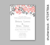 Wedding Invitation Template Or...