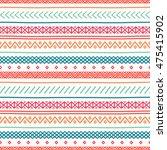 tribal hand drawn line... | Shutterstock .eps vector #475415902