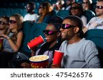 good old movie date. happy... | Shutterstock . vector #475426576