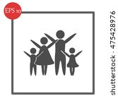 family vector icon | Shutterstock .eps vector #475428976