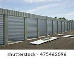 new self storage unit...   Shutterstock . vector #475462096