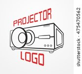 abstract logotype made of... | Shutterstock .eps vector #475470562
