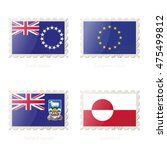 postage stamp with the image of ...   Shutterstock .eps vector #475499812