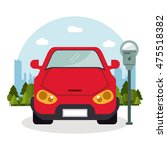 car vehicle auto payment... | Shutterstock .eps vector #475518382