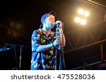 Small photo of BENICASSIM, SPAIN - JUL 16: DMA'S (pop rock band) in concert at FIB Festival on July 16, 2015 in Benicassim, Spain.