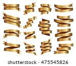 ribbons set | Shutterstock .eps vector #475545826