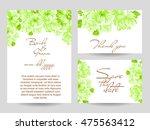 vintage delicate invitation...   Shutterstock .eps vector #475563412