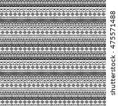 ethnic seamless pattern.... | Shutterstock .eps vector #475571488