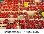 Many Fresh Strawberries For...