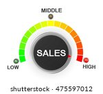 sales button position 3d... | Shutterstock . vector #475597012