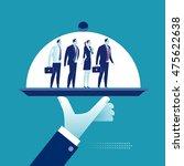 service. business team on a... | Shutterstock .eps vector #475622638