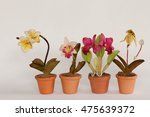 colorful artificial flower | Shutterstock . vector #475639372