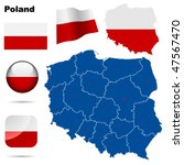 Poland  Vector Set. Detailed...