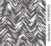 seamless zig zag pattern.... | Shutterstock .eps vector #475699015