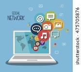 social network media isolated