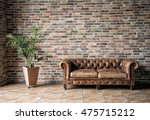 interior mock up photo.... | Shutterstock . vector #475715212