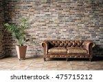 interior mock up photo.... | Shutterstock . vector #475715212