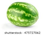 ripe watermelon isolated on... | Shutterstock . vector #475727062