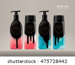 cosmetic package template... | Shutterstock .eps vector #475728442