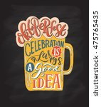 lettering typography ... | Shutterstock .eps vector #475765435