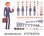 businessman character creation... | Shutterstock .eps vector #475783945