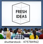 thinking out of the box concept | Shutterstock . vector #475784962