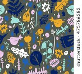 colorful seamless pattern  ... | Shutterstock .eps vector #475786282