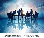 business background. rasterized ... | Shutterstock . vector #475793782
