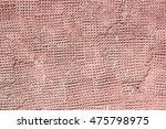 plaster cement and concrete red | Shutterstock . vector #475798975