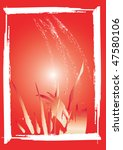 vector grunge card | Shutterstock .eps vector #47580106