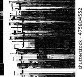 Black And White Computer Glitc...