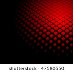 3d abstract dynamic red...