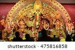 Small photo of Durga Puja Idol, A biggest hindu festival in India