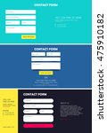 set of contact form for website....