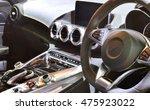 modern car interior | Shutterstock . vector #475923022