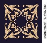 gold traditional  islam  arabic ... | Shutterstock .eps vector #475937482